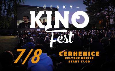 7.8. Cerhenice – Český kinofest + Gazdina Roba